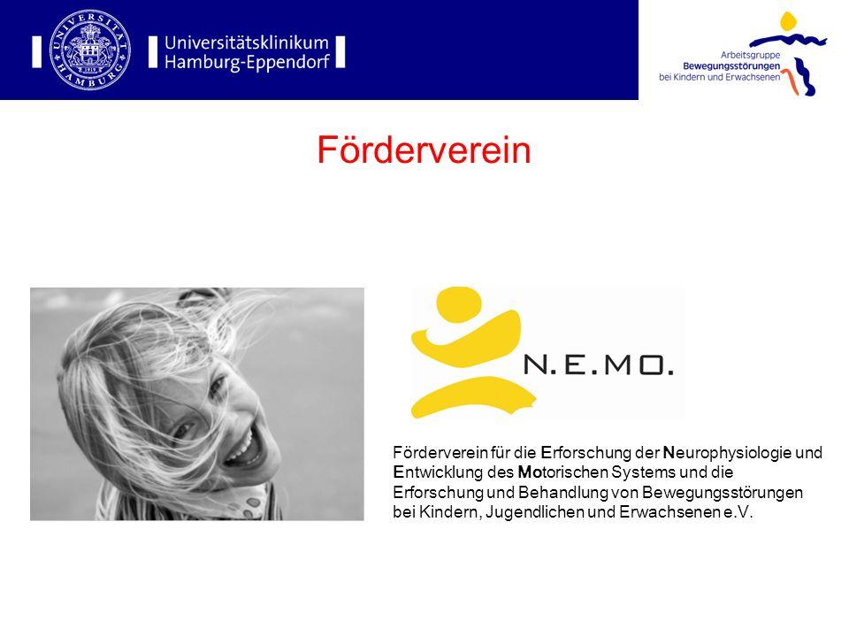 Förderverein für die Erforschung der Neurophysiologie und Entwicklung des Motorischen Systems und die Erforschung und Behandlung von Bewegungsstörungen bei Kindern, Jugendlichen und Erwachsenen e.V.