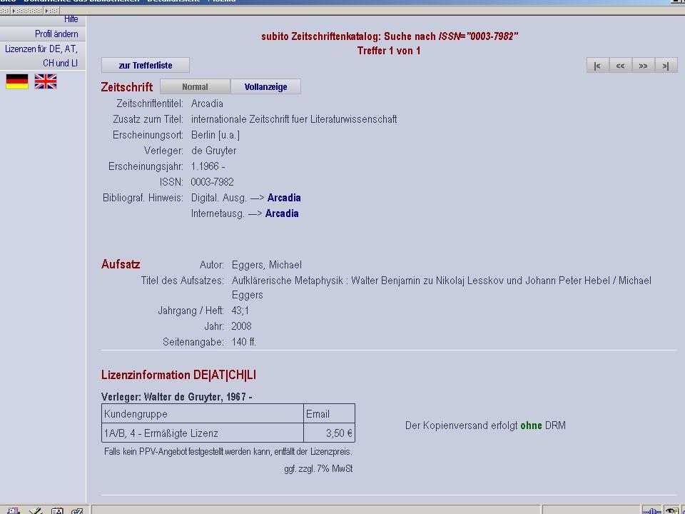 Germanistik im Netz 201033