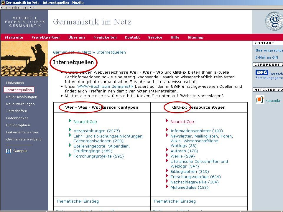 Germanistik im Netz 201034