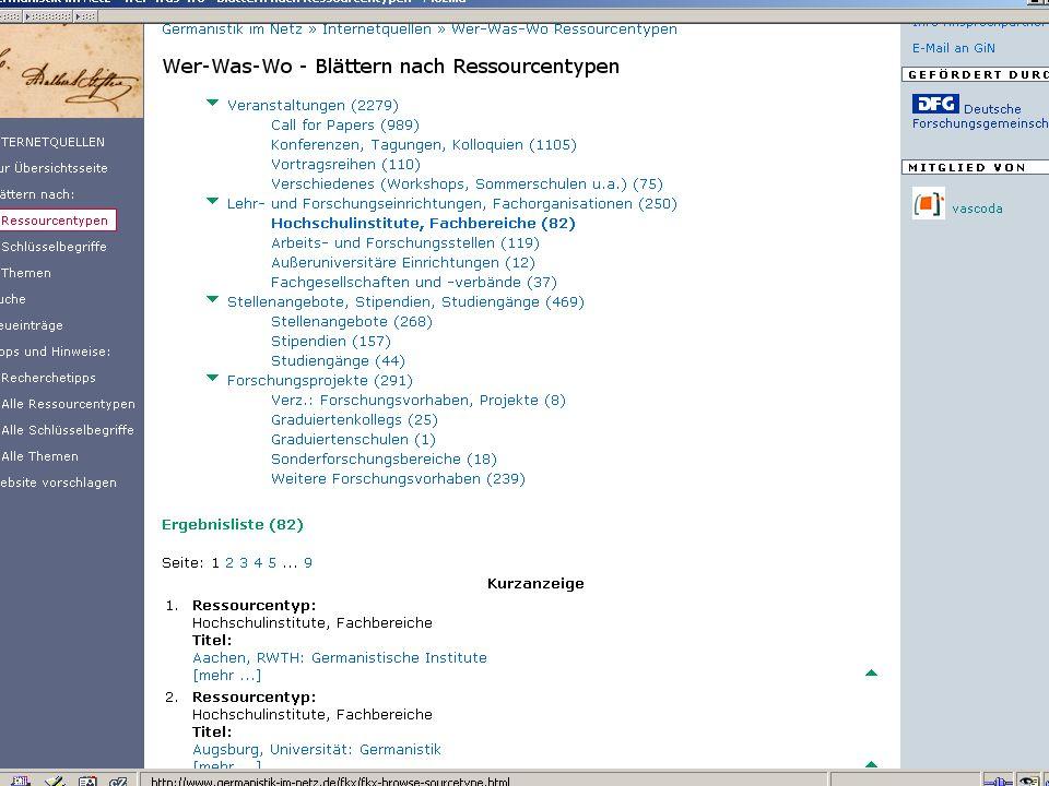 Germanistik im Netz 201042