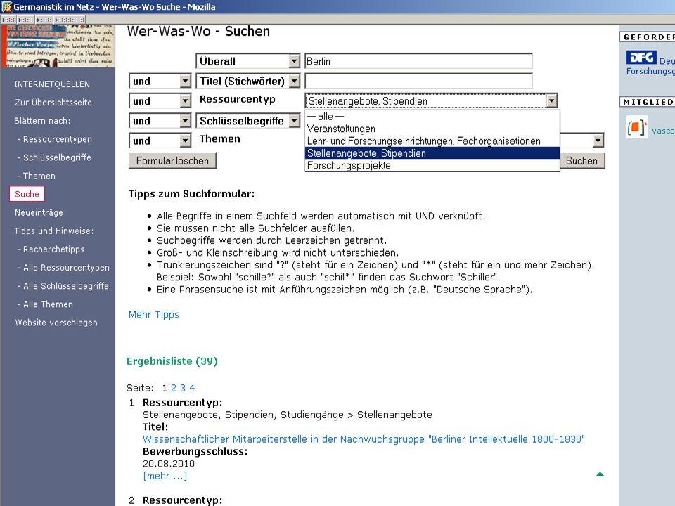 Germanistik im Netz 201044