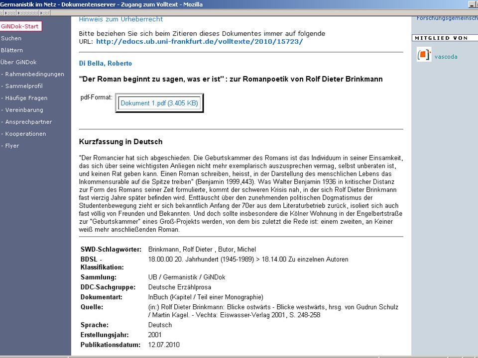 Germanistik im Netz 201046
