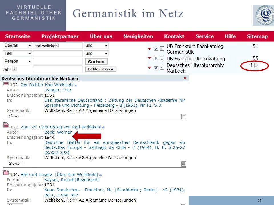 3703.11.2013 Trefferanalyse DLA