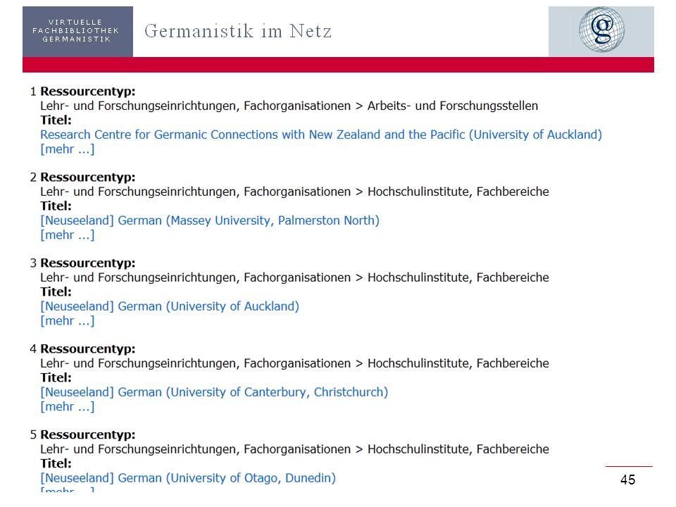 Germanistik im Netz 201045