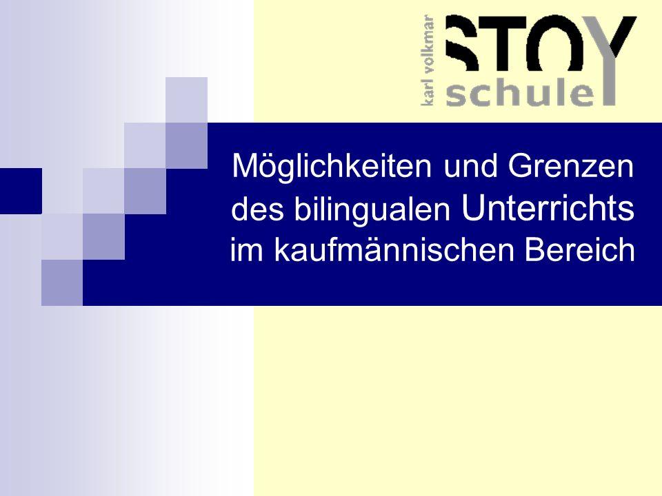 Die Karl-Volkmar-Stoy-Schule in Jena - Kaufmännische Ausrichtung - ca.