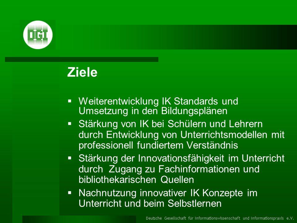 Deutsche Gesellschaft für Informationswissenschaft und Informationspraxis e.V.