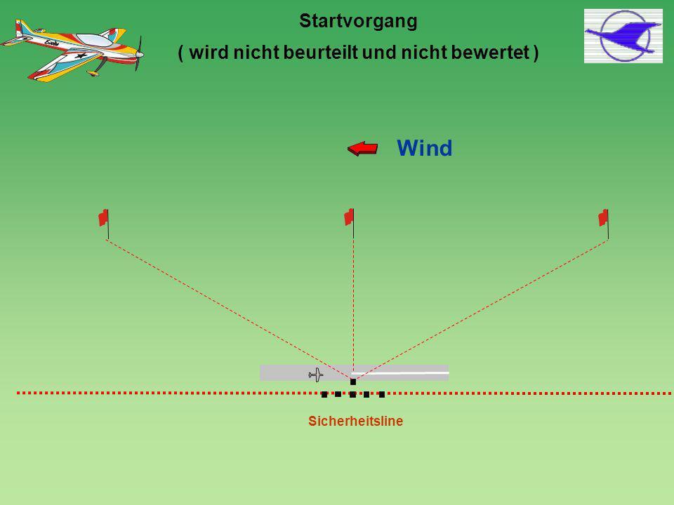 P-09.01: Kombination Umgekehrtes Split S und Split S, 2/4-Punkt-Rolle zuerst, dann Ganze Rolle, Ausflug im Rückenflug 2/4-Punkt-Rolle Ganze Rolle Die Länge der oberen waagerechten Linie (inkl.