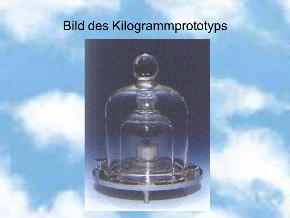 Bild des Kilogrammprototyps