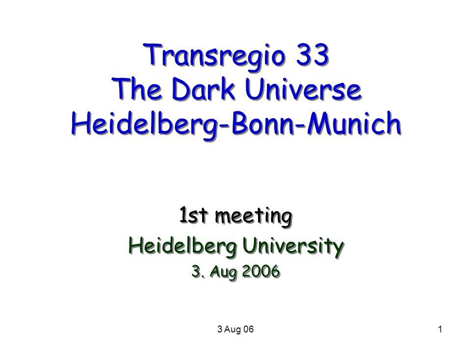 3 Aug 062 UHD 7.Juli 06: Press release