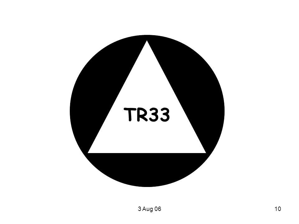 3 Aug 0610 TR33