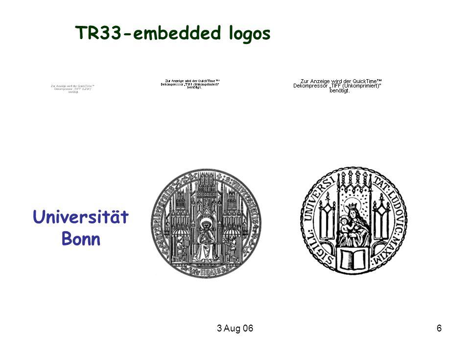 3 Aug 067 Joan Mir ó, Die Geburt der Welt TR33-Logo?