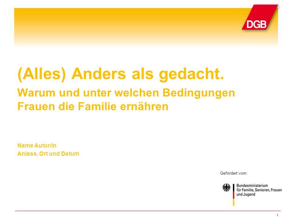 Zu Hause. Fürsorge und Geschlechterrollenbilder in Familienernährerinnen-Haushalten