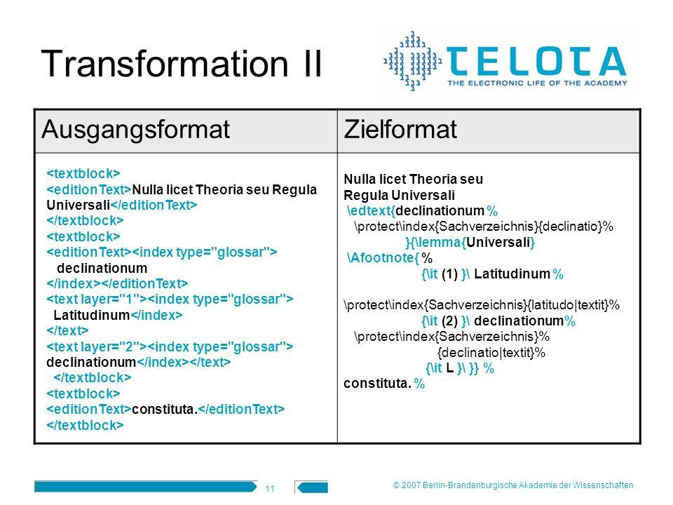 11 Transformation II AusgangsformatZielformat Nulla licet Theoria seu Regula Universali \edtext{declinationum % \protect\index{Sachverzeichnis}{declin