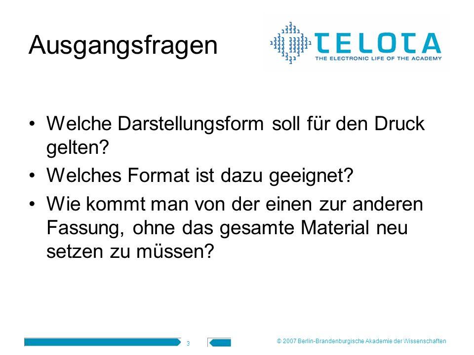 4 html/pdf © 2007 Berlin-Brandenburgische Akademie der Wissenschaften