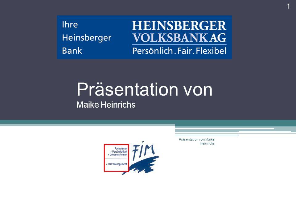 Präsentation von Maike Heinrichs 1