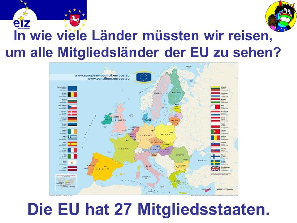 Das Motto der EU heißt: In Vielfalt geeint Was bedeutet es? Die Länder der EU haben sich zusammengeschlossen, um gemeinsam zu arbeiten Dabei bleiben d