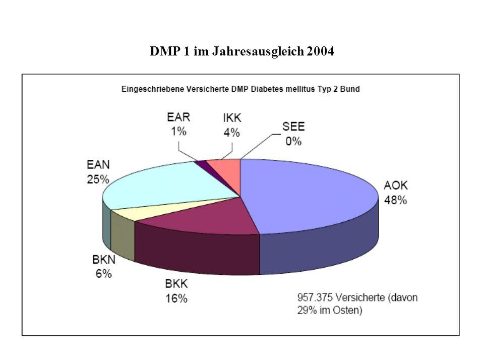 DMP 1 im Jahresausgleich 2004