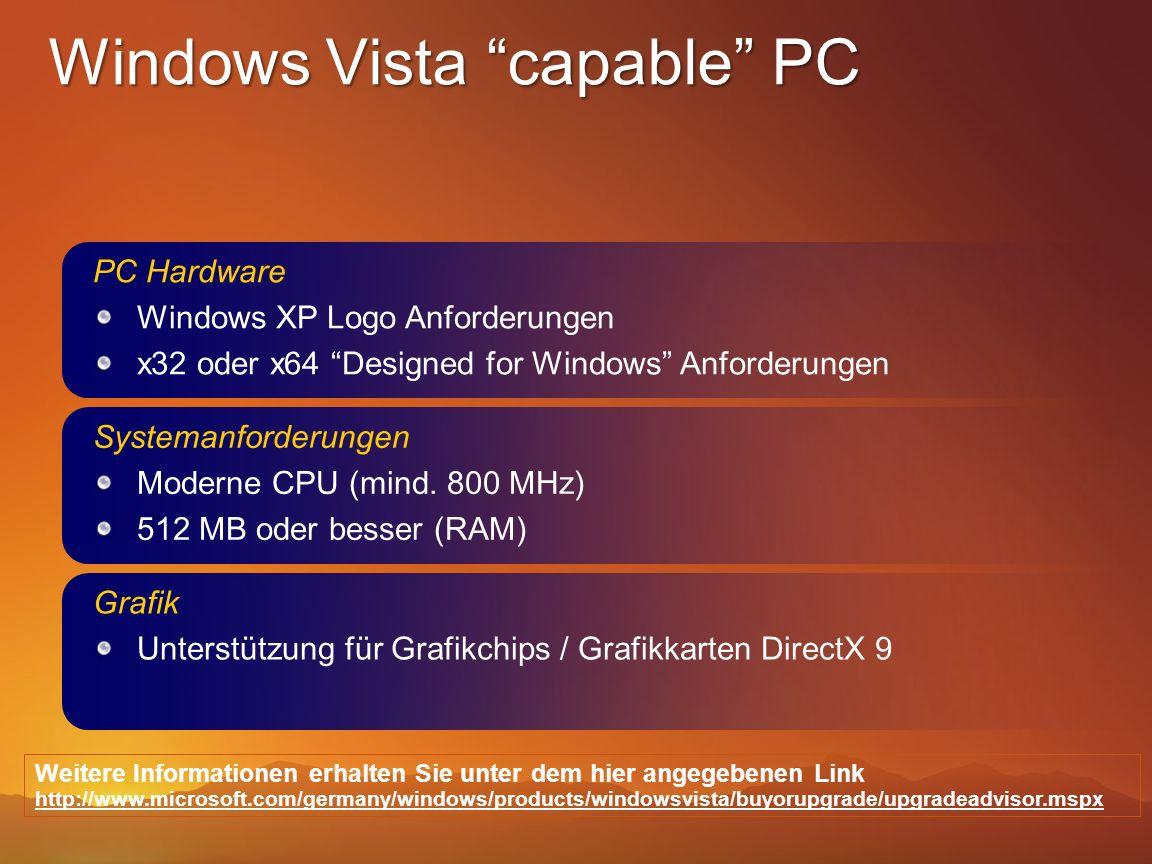 Systemanforderungen Moderne CPU (mind. 800 MHz) 512 MB oder besser (RAM) Grafik Unterstützung für Grafikchips / Grafikkarten DirectX 9 Weitere Informa