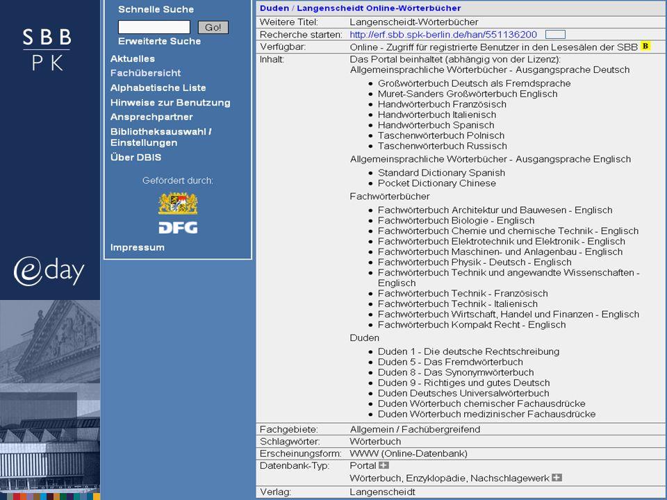 4. Mai 2011 |Elektronische Ressourcen für das moderne wissenschaftliche ArbeitenS. 6