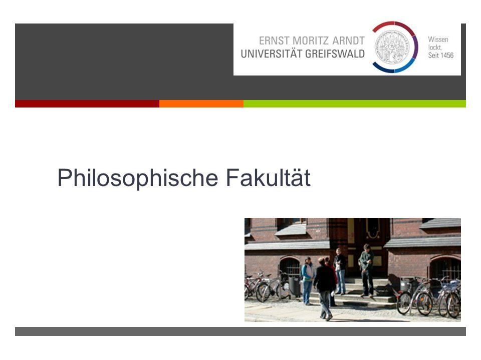 Inhalt 1.Philosophische Fakultät und ihre Institute 2.