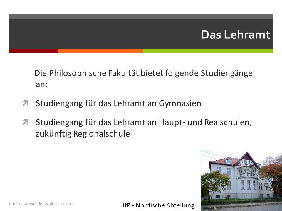 Das Lehramt Die Philosophische Fakultät bietet folgende Studiengänge an: Studiengang für das Lehramt an Gymnasien Studiengang für das Lehramt an Haupt