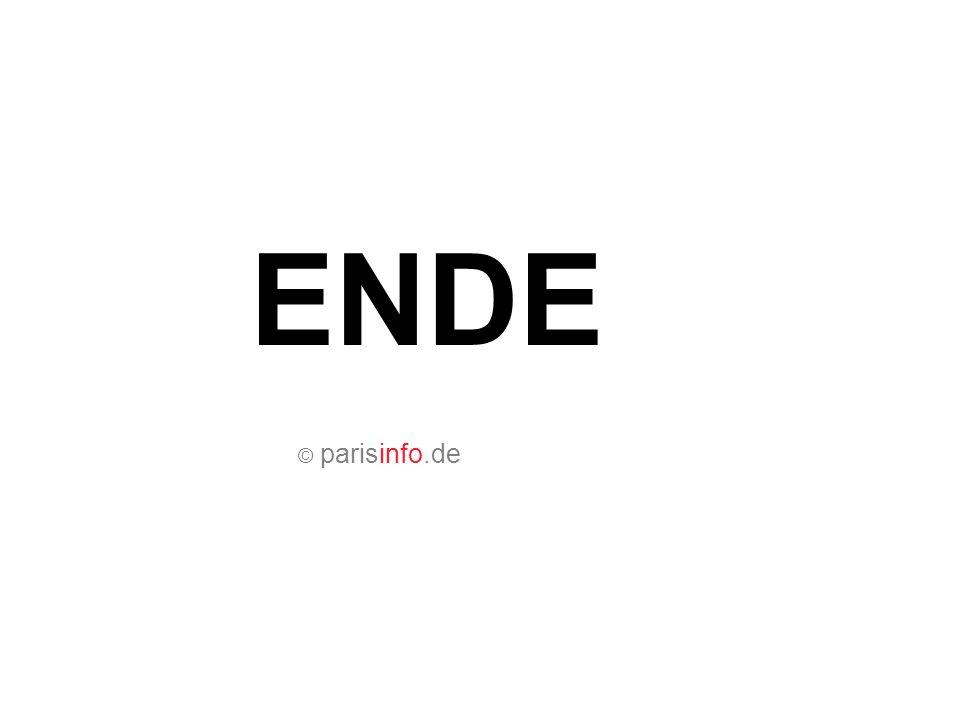 © parisinfo.de ENDE
