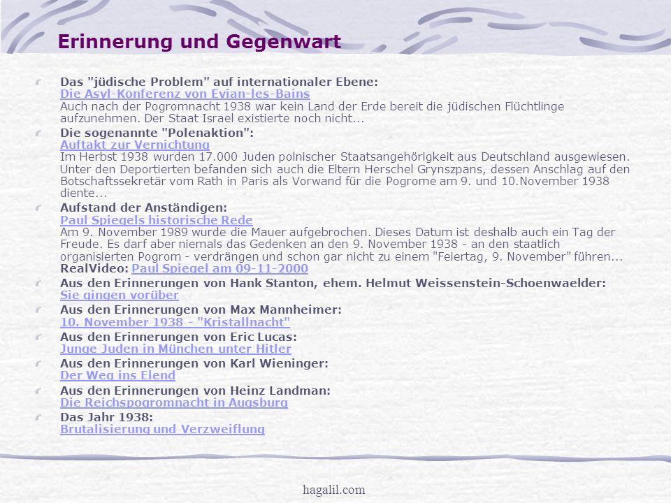 hagalil.com Artikel und Links In Deutschland hat der Synagogenbau Hochkonjunktur: Weg vom Provisorium Weg vom Provisorium Die Geschichte der Juden in