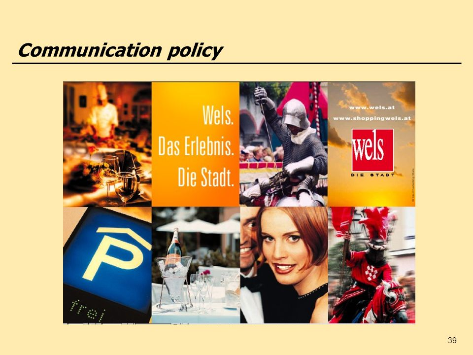 39 Communication policy