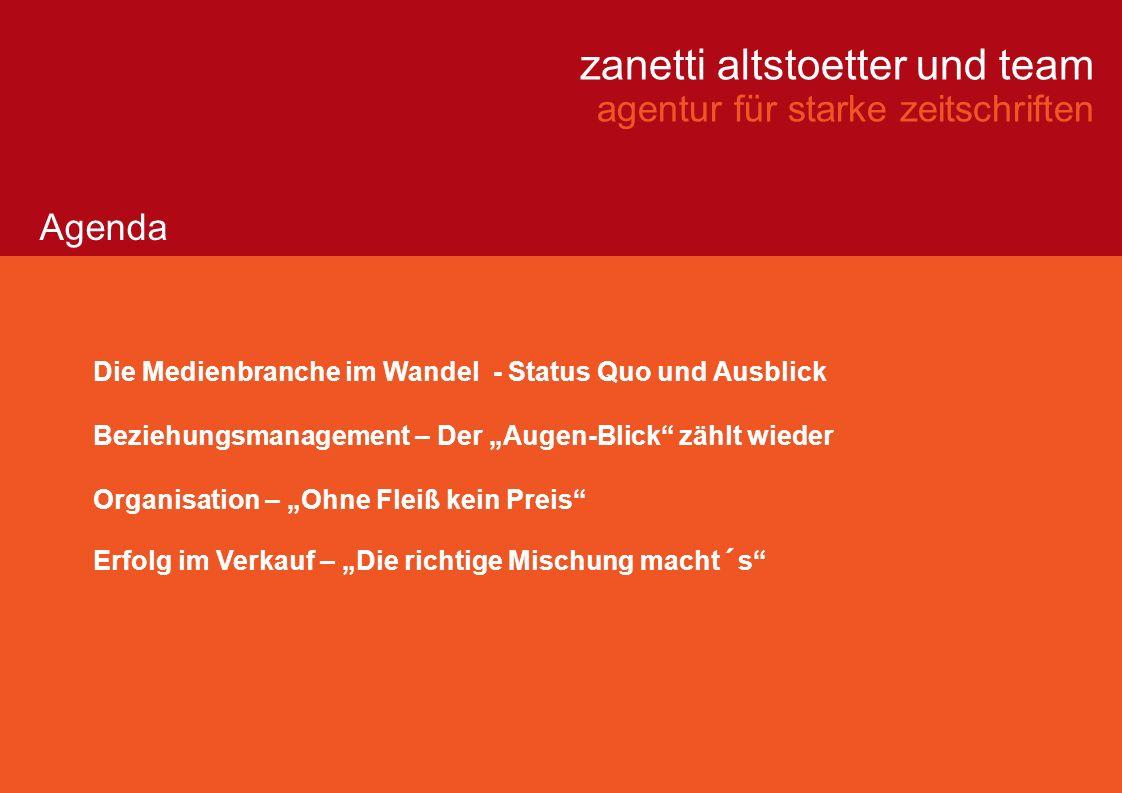 zanetti altstoetter und team agentur für starke zeitschriften Volker Zanetti und sein Team beraten und schulen Fachmedien, Unternehmen und Verbände.