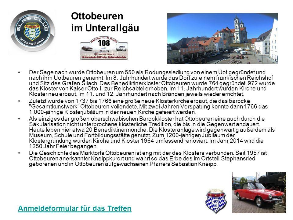 Der Sage nach wurde Ottobeuren um 550 als Rodungssiedlung von einem Uot gegründet und nach ihm Uotbeuren genannt.