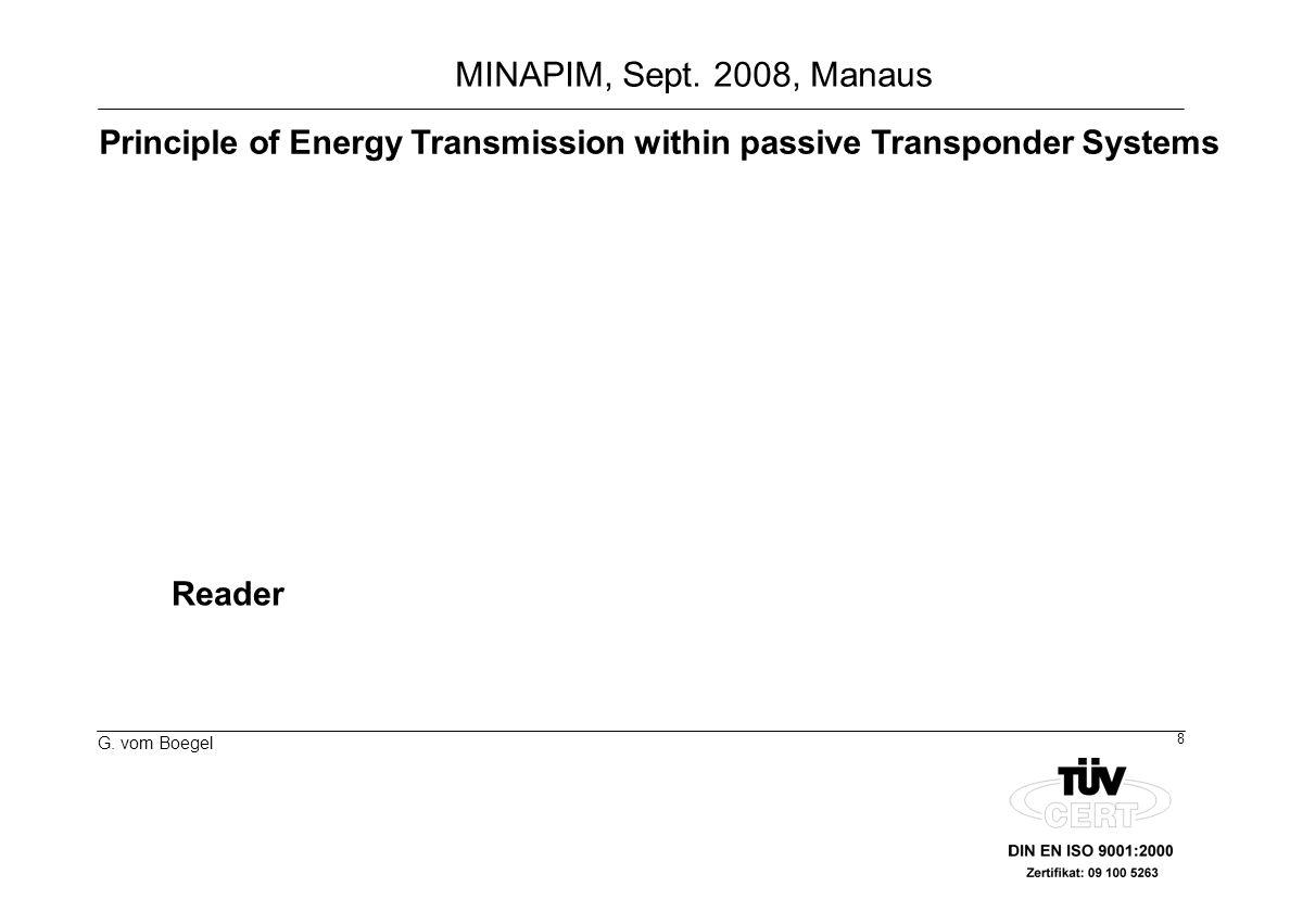 9 G. vom Boegel MINAPIM, Sept. 2008, Manaus Temperature Monitoring Transponder TempLog-Label
