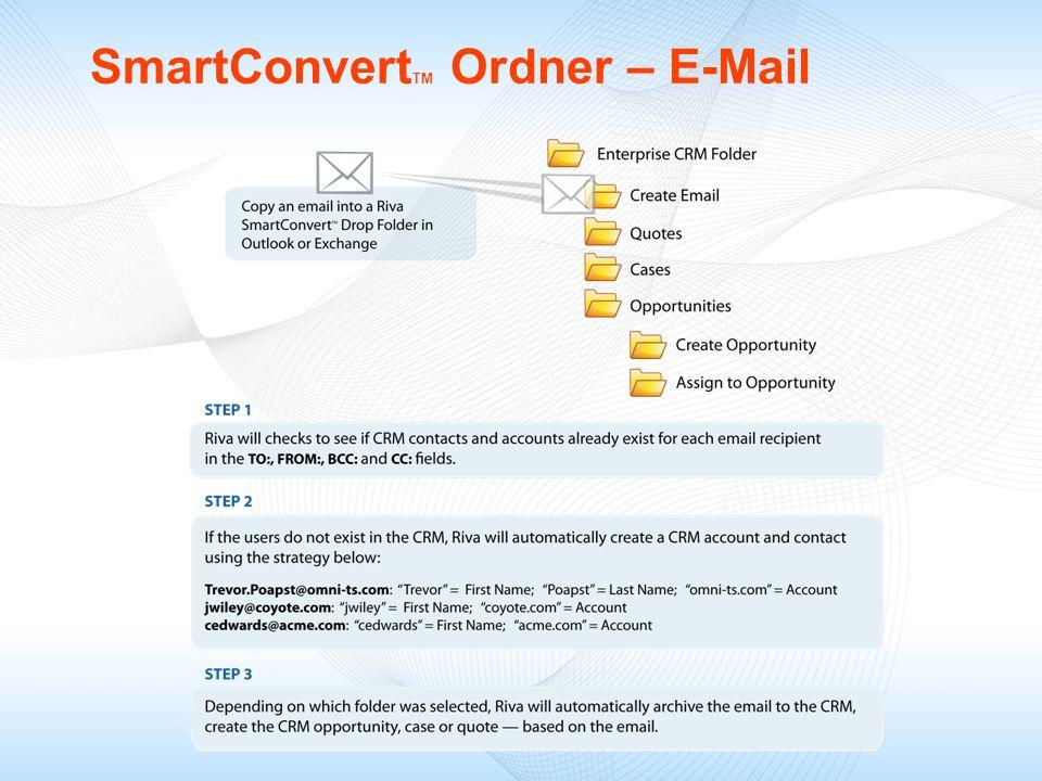 SmartConvert TM Ordner – E-Mail