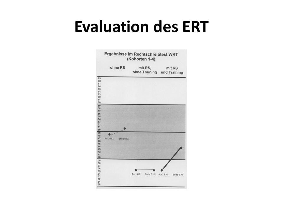 Evaluation des ERT