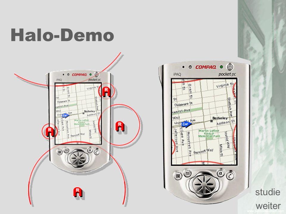 Halo-Demo weiter studie