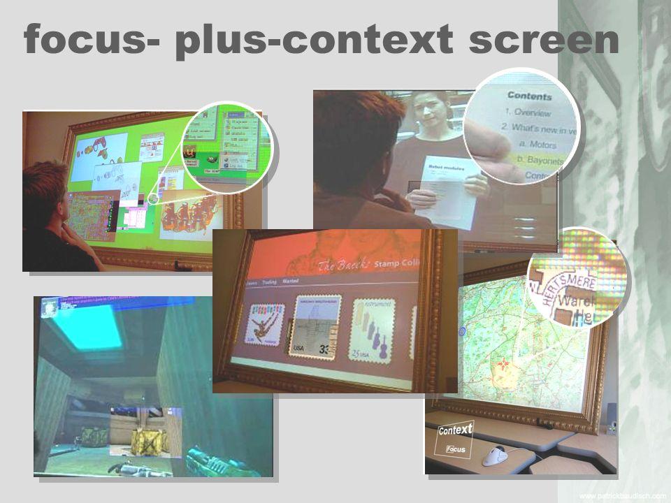Zwei Techniken (interfaces) Maßstab 110- 300m/cm Hintergrund Karte Lesbarkeit ok Selektionsfläche gleich Hypothese: Halo schneller Halo Ring Distanz vom Displayrand Legende weiter