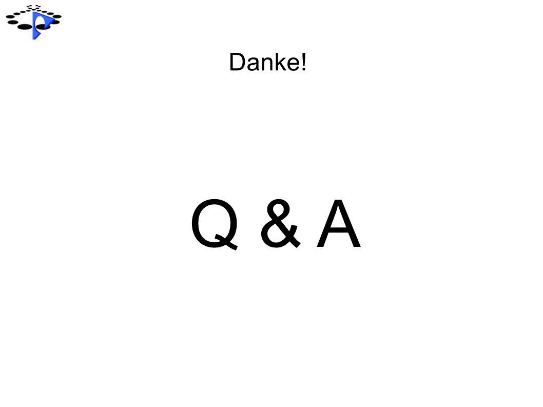 Danke! Q & A