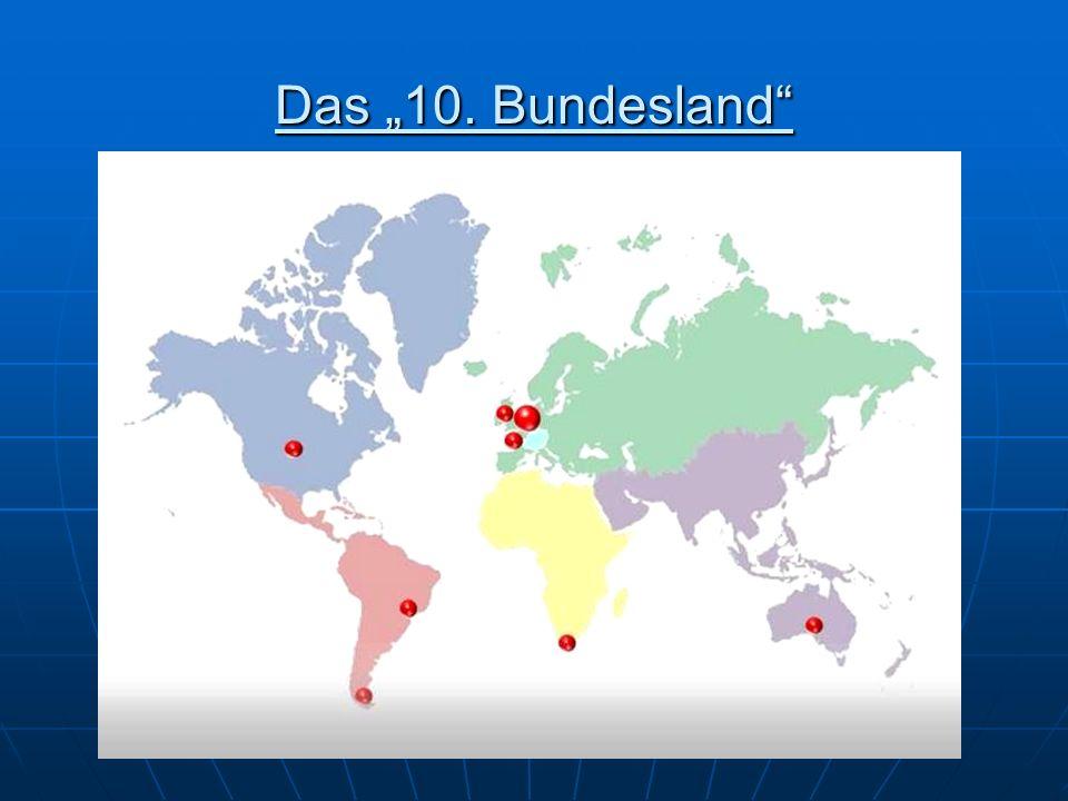 Weltweite Verteilung der AÖ Deutschland - 230.000 AÖ Deutschland - 230.000 AÖ Schweiz - 40.000 AÖ Schweiz - 40.000 AÖ USA - 30.000 AÖ USA - 30.000 AÖ Südafrika - 20.000 AÖ Südafrika - 20.000 AÖ Australien - 15.000 AÖ Australien - 15.000 AÖ Brasilien - 10.600 AÖ Brasilien - 10.600 AÖ Argentinien - 10.300 AÖ Argentinien - 10.300 AÖ Kanada - 8000 AÖ Kanada - 8000 AÖ