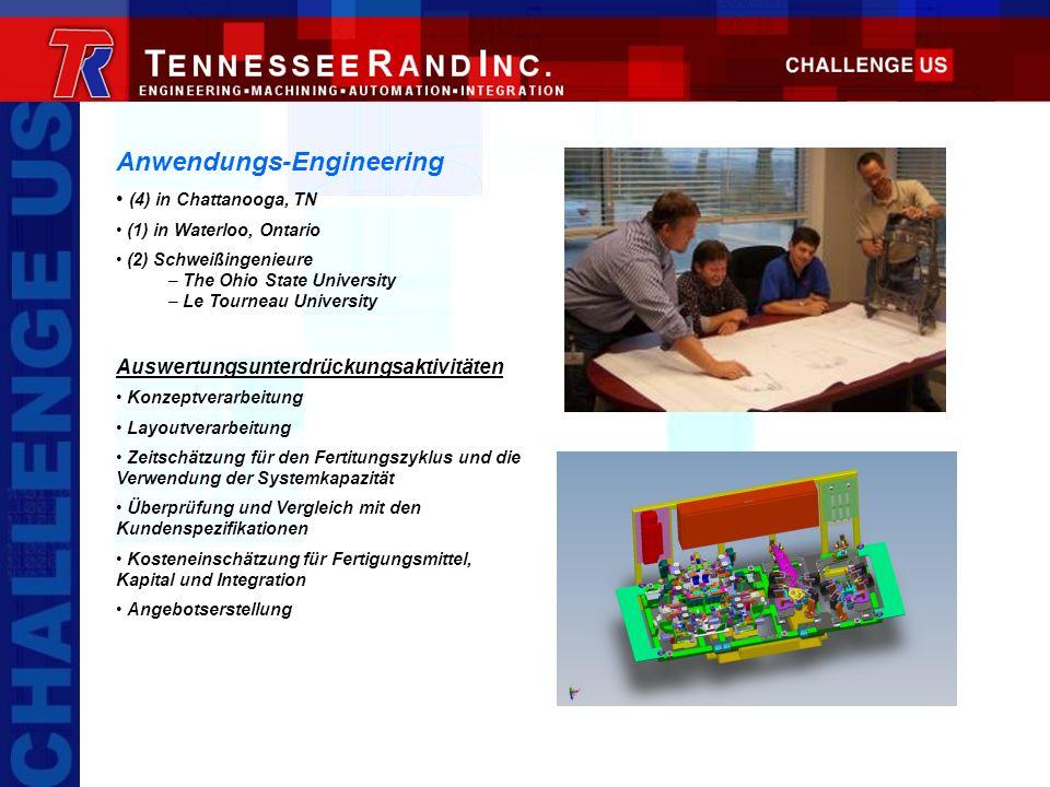 Anwendungs-Engineering (4) in Chattanooga, TN (1) in Waterloo, Ontario (2) Schweißingenieure – The Ohio State University – Le Tourneau University Ausw