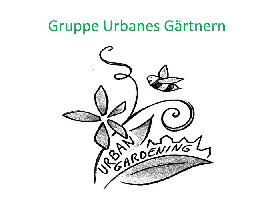 Gruppe Urbanes Gärtnern