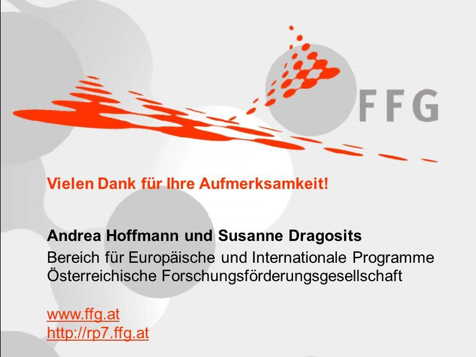 Seite 67 Vielen Dank für Ihre Aufmerksamkeit! Andrea Hoffmann und Susanne Dragosits Bereich für Europäische und Internationale Programme Österreichisc