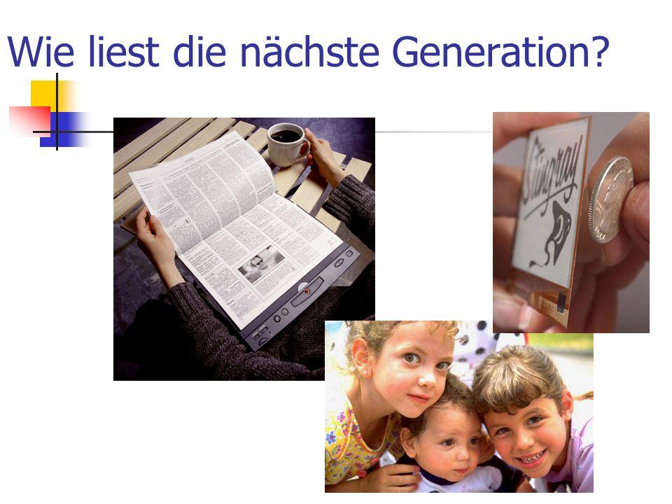 Wie liest die nächste Generation?