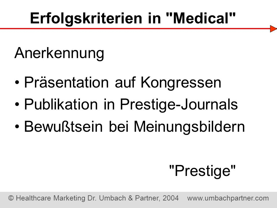 © Healthcare Marketing Dr.