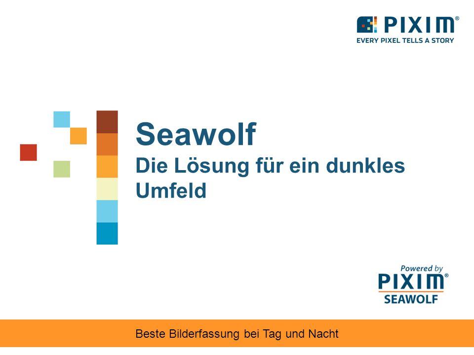 Bilder des Testgerät für die Bildqualität Die Seawolf-Bildqualität ist CCDs überlegen.