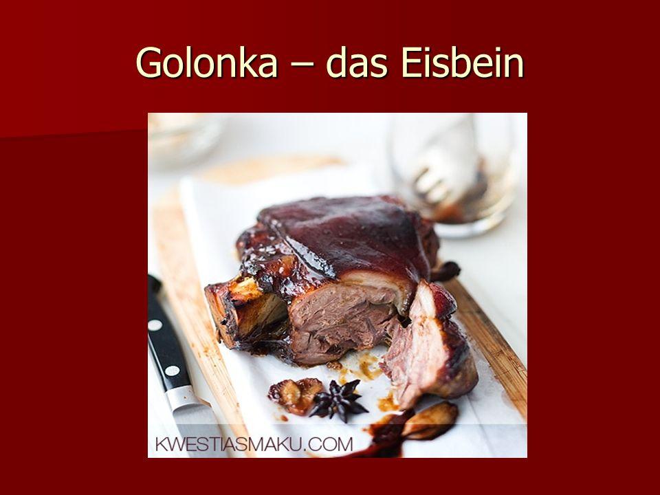 Golonka – das Eisbein