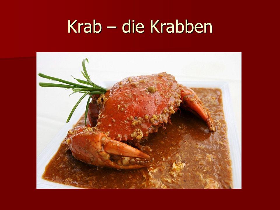 Krab – die Krabben
