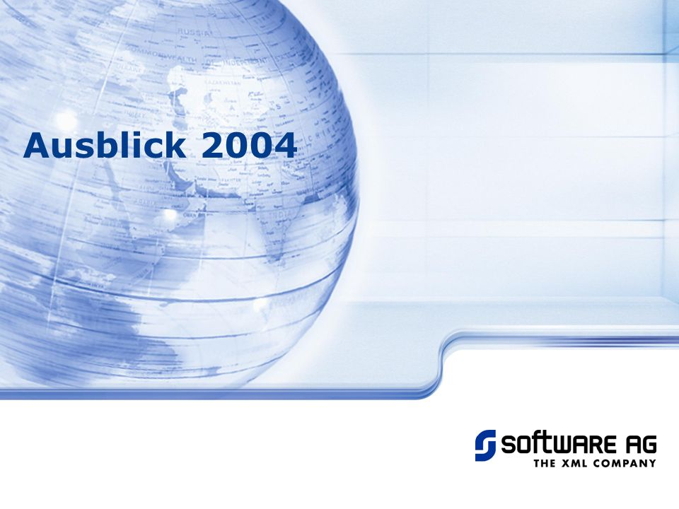 Ausblick 2004