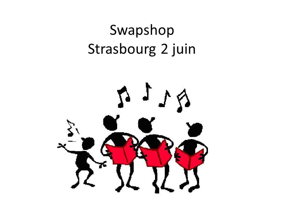 Swapshop Strasbourg 2 juin