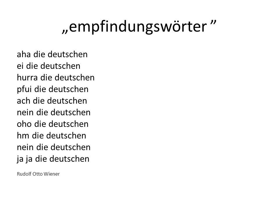 empfindungswörter aha die deutschen ei die deutschen hurra die deutschen pfui die deutschen ach die deutschen nein die deutschen oho die deutschen hm