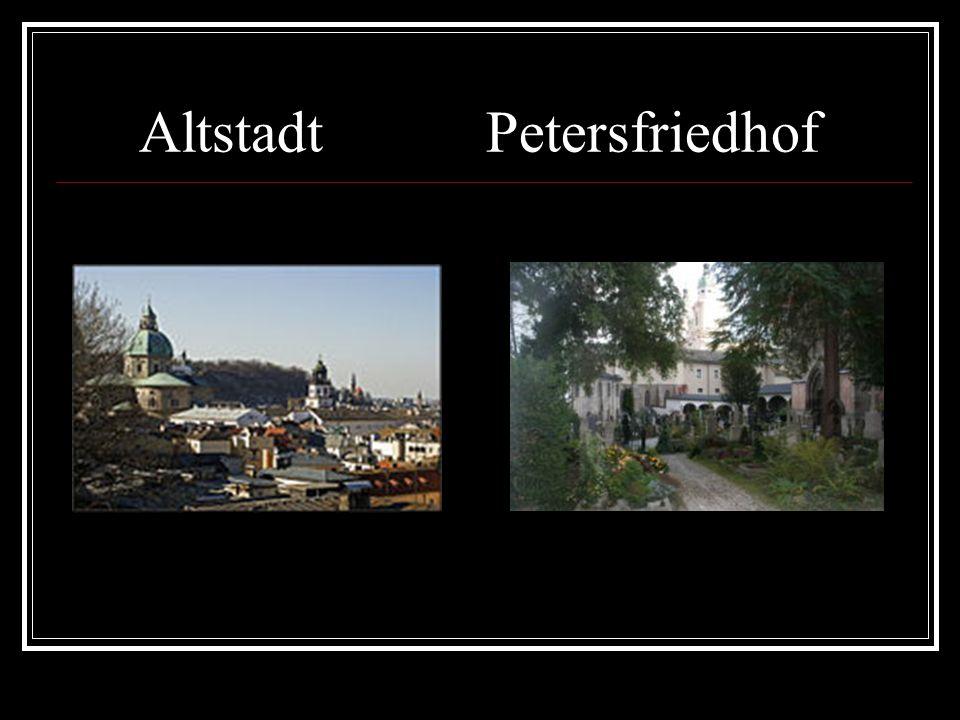 Altstadt Petersfriedhof