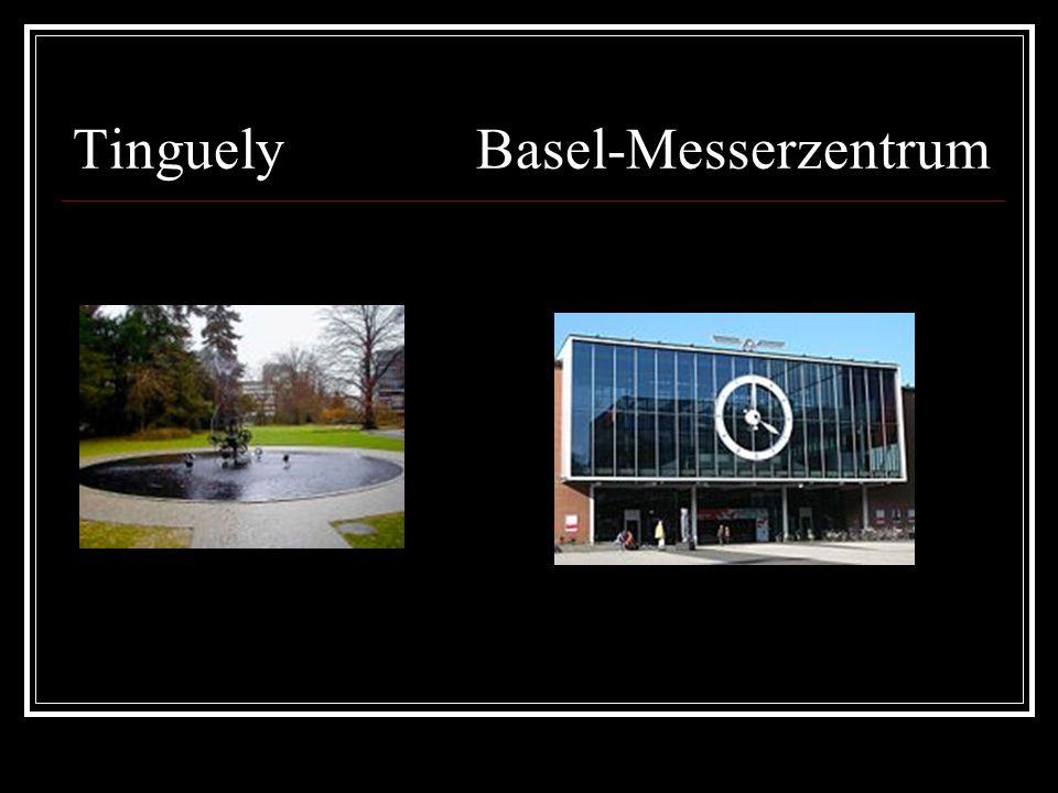 Tinguely Basel-Messerzentrum